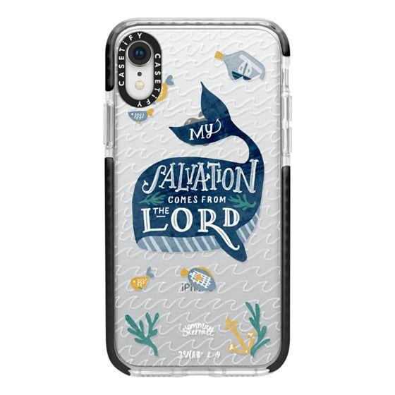 iPhone XR Cases - Jonah 2:9  Bible Verse Case
