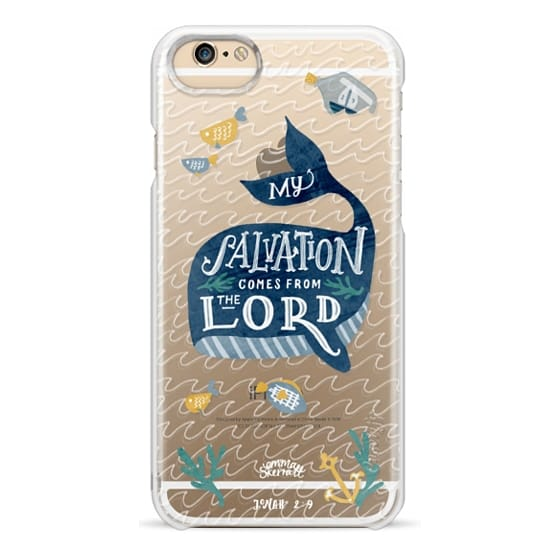 iPhone 6 Cases - Jonah 2:9  Bible Verse Case