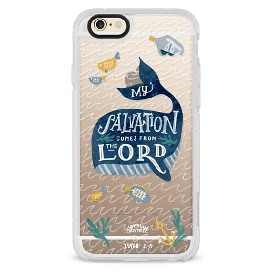 iPhone 4 Cases - Jonah 2:9  Bible Verse Case