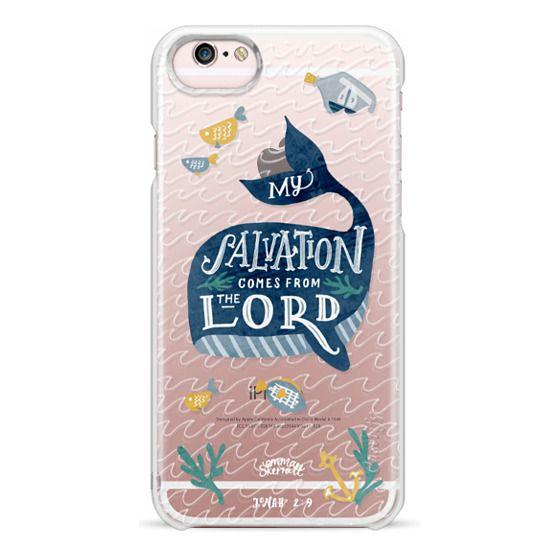 iPhone 6s Cases - Jonah 2:9  Bible Verse Case