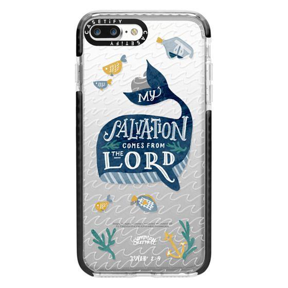 iPhone 7 Plus Cases - Jonah 2:9  Bible Verse Case