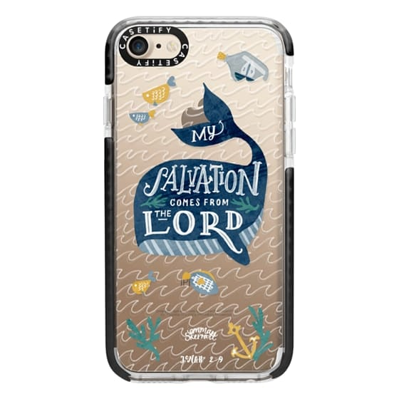 iPhone 7 Cases - Jonah 2:9  Bible Verse Case