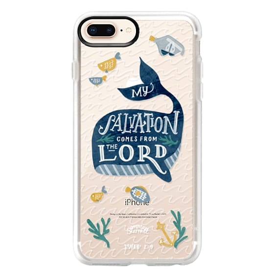 iPhone 8 Plus Cases - Jonah 2:9  Bible Verse Case