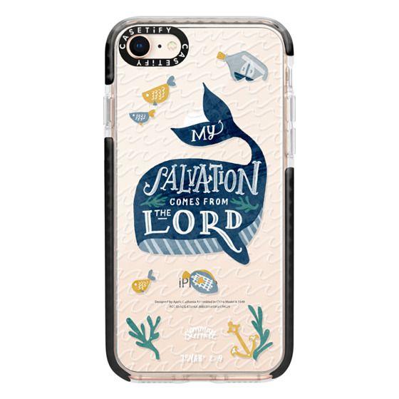 iPhone 8 Cases - Jonah 2:9  Bible Verse Case