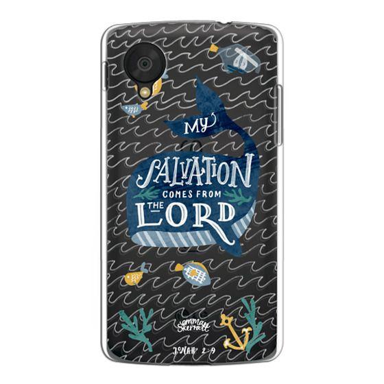 Nexus 5 Cases - Jonah 2:9  Bible Verse Case