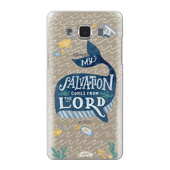 Samsung Galaxy A5 Cases - Jonah 2:9  Bible Verse Case