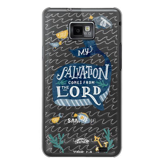 Samsung Galaxy S2 Cases - Jonah 2:9  Bible Verse Case