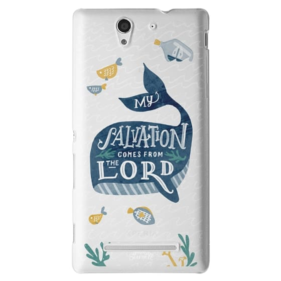 Sony C3 Cases - Jonah 2:9  Bible Verse Case