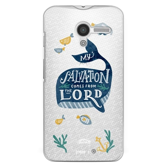 Moto X Cases - Jonah 2:9  Bible Verse Case
