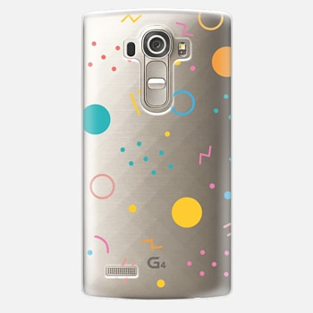 LG G4 Case Colorful Shapes (Clear)