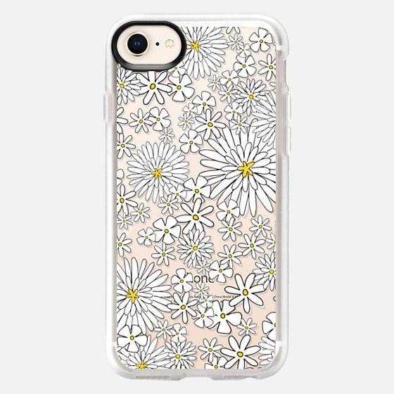 Little White Flowers - Snap Case