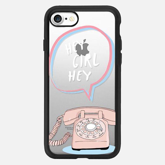 Hey Girl Hey Vintage Phone -