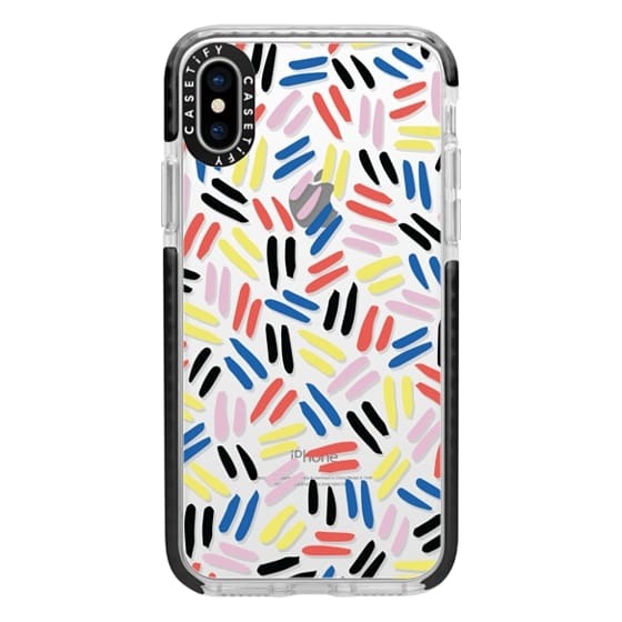 iPhone X Cases - Lines