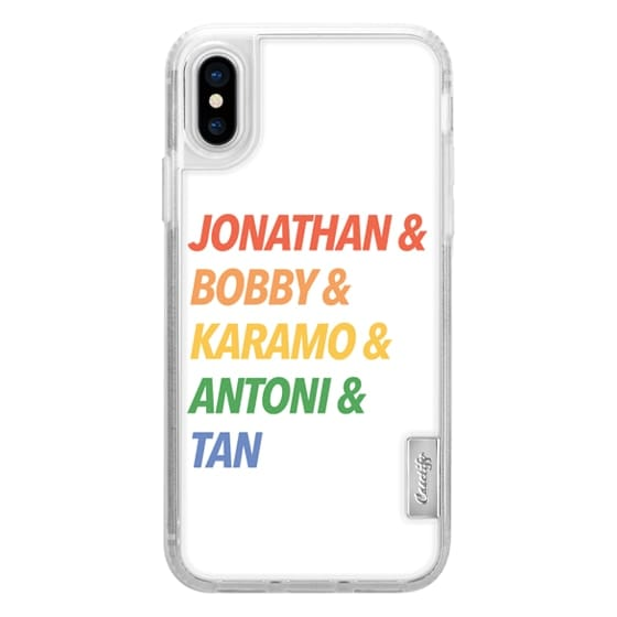 Ultra Impact Iphone X Case Queer Eye White Background