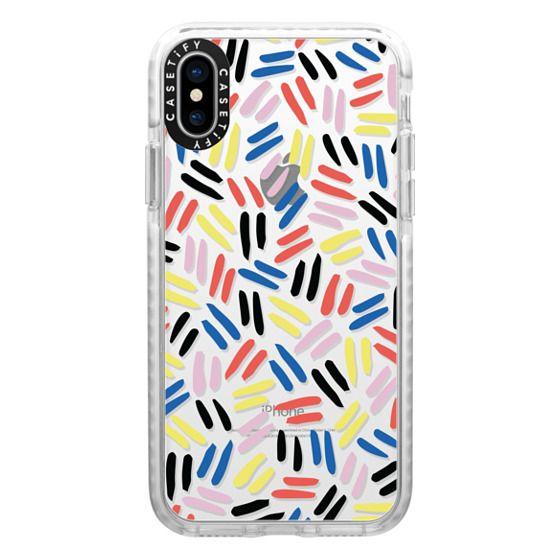 iPhone X Cases - Lines