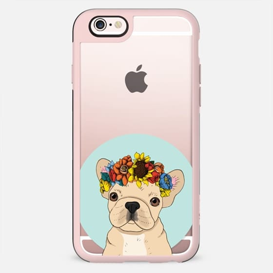 Floral Frenchie (Fawn) - New Standard Case