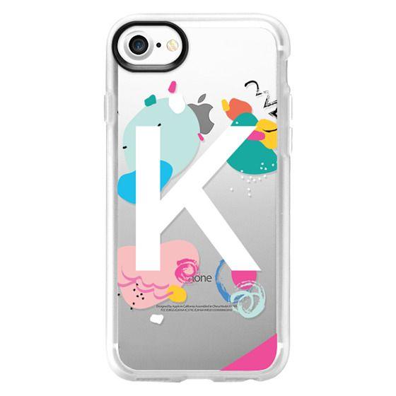 K Monogram (Clear)