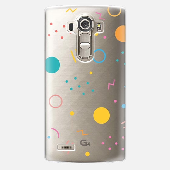 LG G4 Case - Colorful Shapes (Clear)