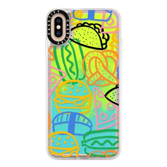 iPhone XS Max Cases - Savory Snacks