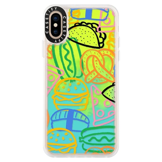 iPhone XS Cases - Savory Snacks