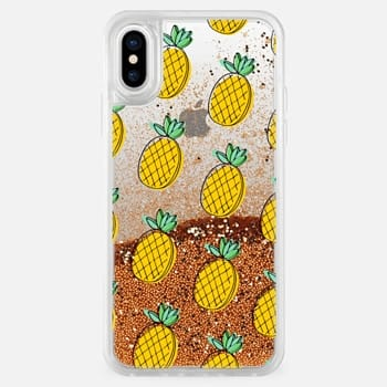 iPhone X Case Pineapples