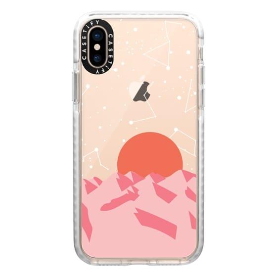 iPhone XS Cases - Palm Springs Sunset