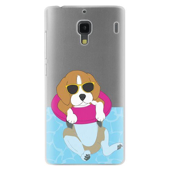 Redmi 1s Cases - Swimming Beagle