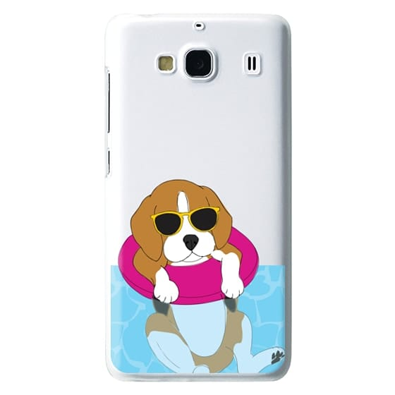 Swimming Beagle