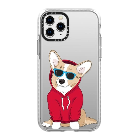 iPhone 11 Pro Cases - Hipster Corgi