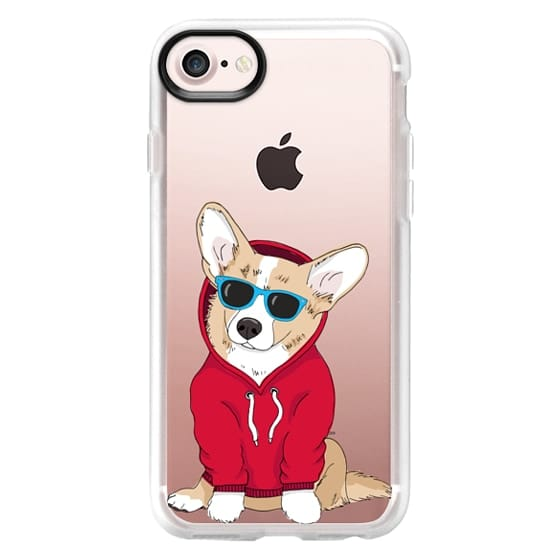 iPhone 7 Cases - Hipster Corgi