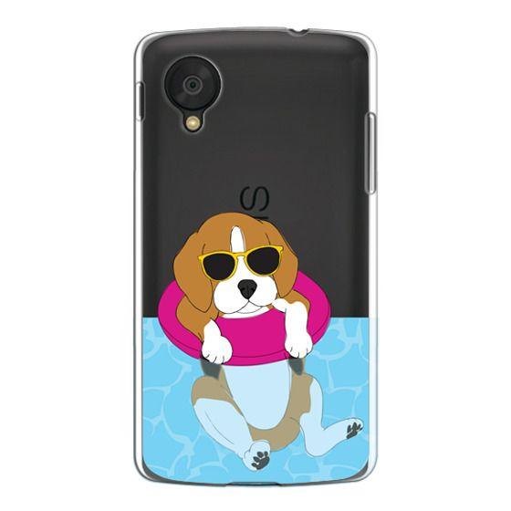 Nexus 5 Cases - Swimming Beagle