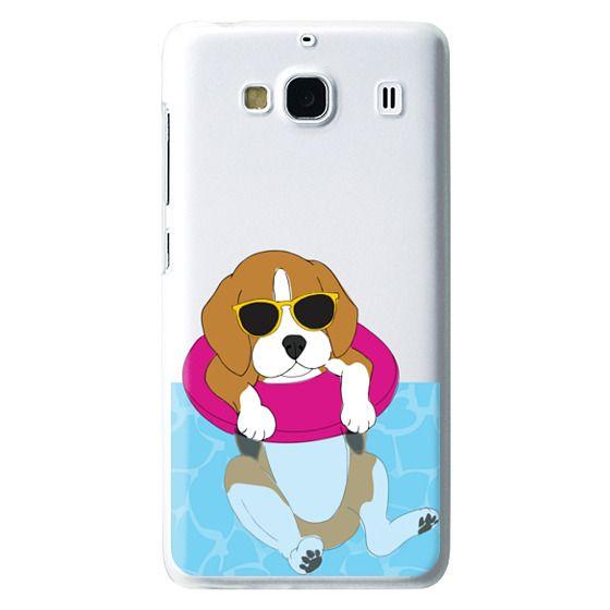 Redmi 2 Cases - Swimming Beagle