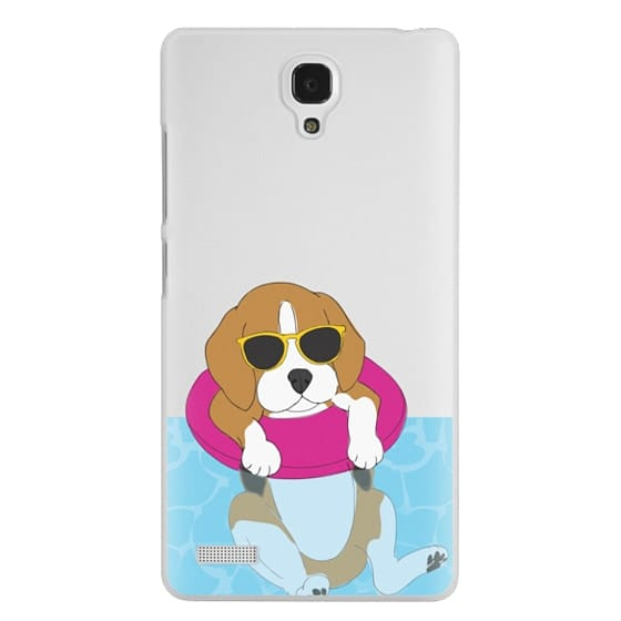 Redmi Note Cases - Swimming Beagle
