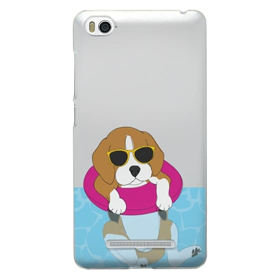 Xiaomi 4i Cases - Swimming Beagle