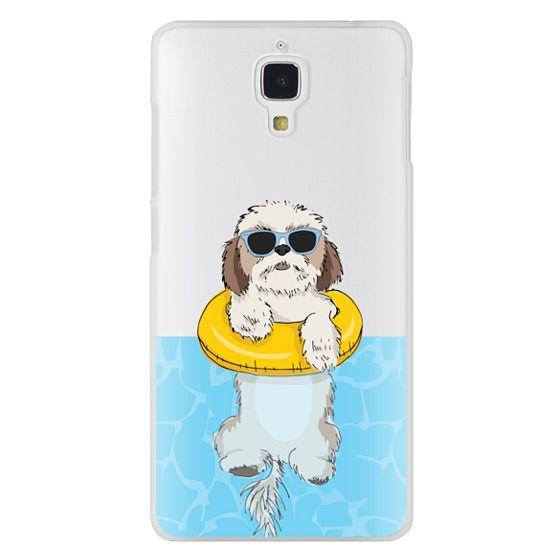 Xiaomi 4 Cases - Swimming Shih Tzu