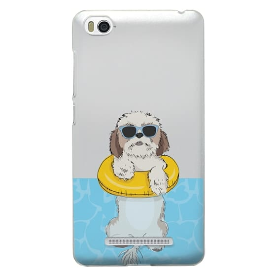 Xiaomi 4i Cases - Swimming Shih Tzu