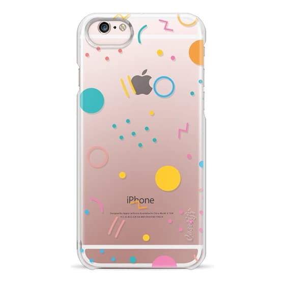 iPhone 6s Cases - Colorful Shapes (Clear)
