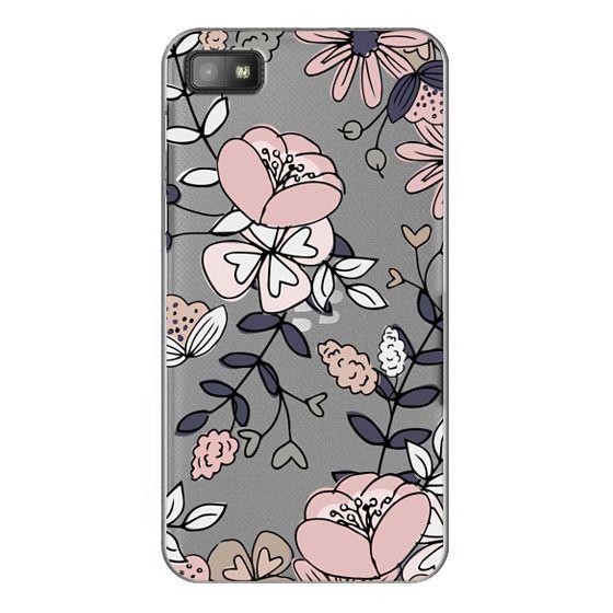 Blackberry Z10 Cases - Blush Floral