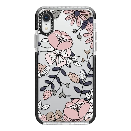 iPhone XR Cases - Blush Floral
