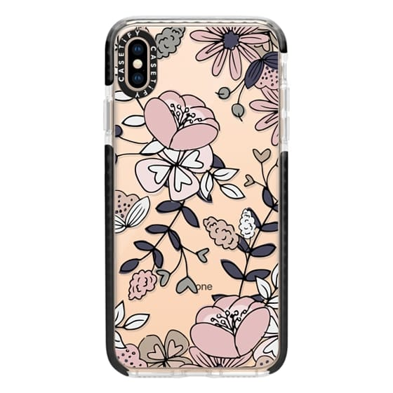 iPhone XS Max Cases - Blush Floral