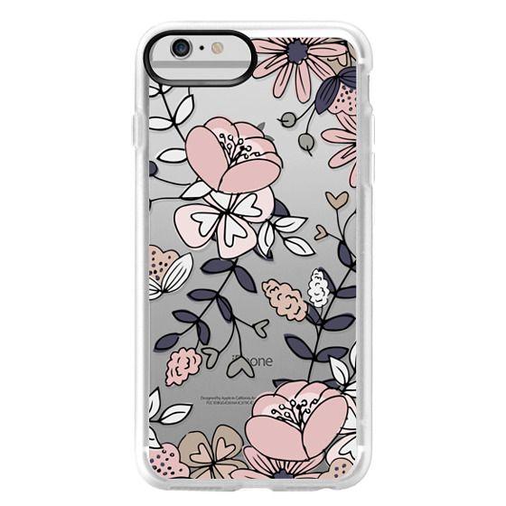 iPhone 6 Plus Cases - Blush Floral