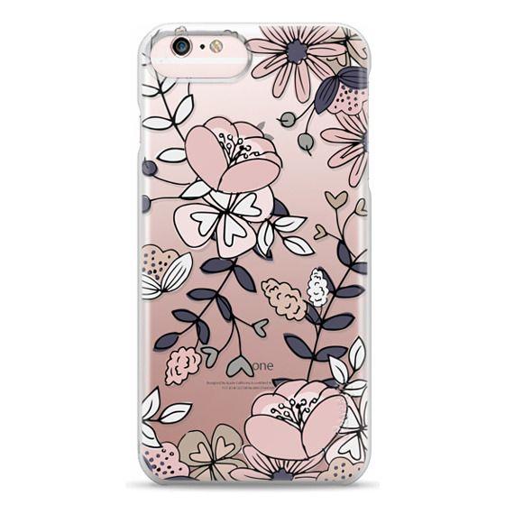 iPhone 6s Plus Cases - Blush Floral