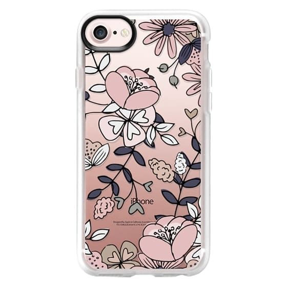 iPhone 7 Cases - Blush Floral