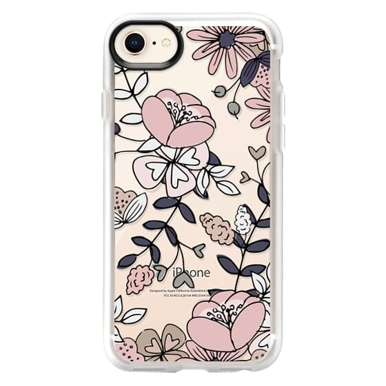 iPhone 8 Cases - Blush Floral