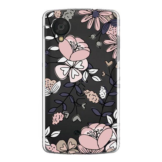 Nexus 5 Cases - Blush Floral