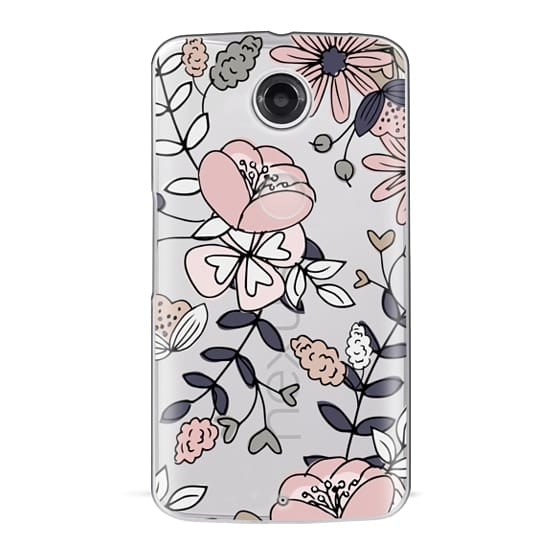 Nexus 6 Cases - Blush Floral