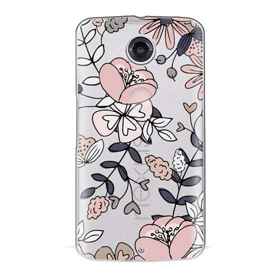 Nexus 6 Cases - Blush Floral