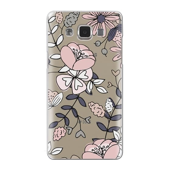 Samsung Galaxy A5 Cases - Blush Floral