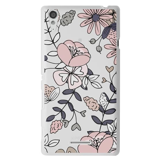 Sony T3 Cases - Blush Floral
