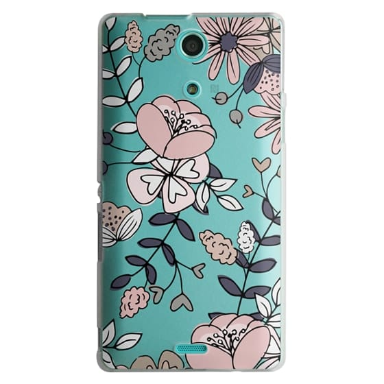 Sony Zr Cases - Blush Floral